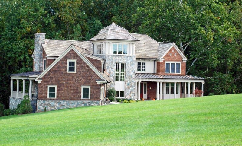 10 domów luksus fotografia stock
