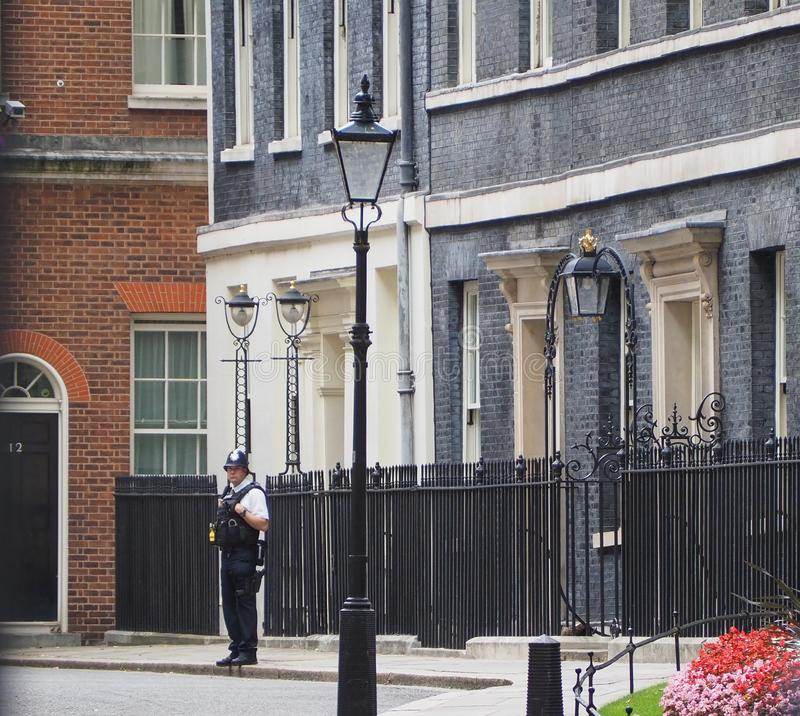 Free 10 Downing Street Residence Of The UK PM In London Royalty Free Stock Images - 161007229