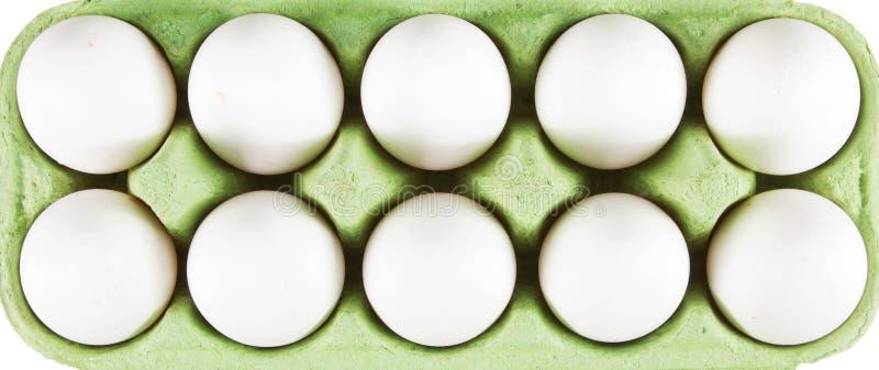10 Eier stockfotos