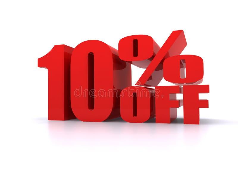 10% fora do sinal relativo à promoção grande