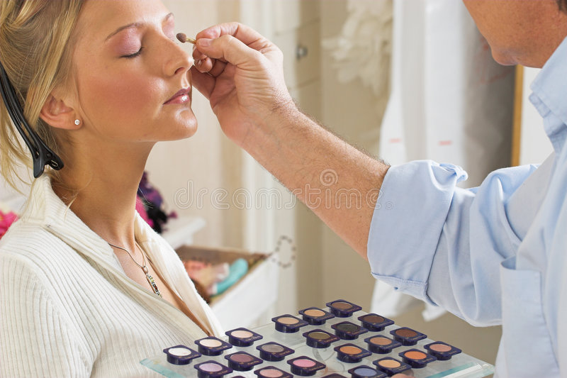 10 Makijaż Obrazy Stock