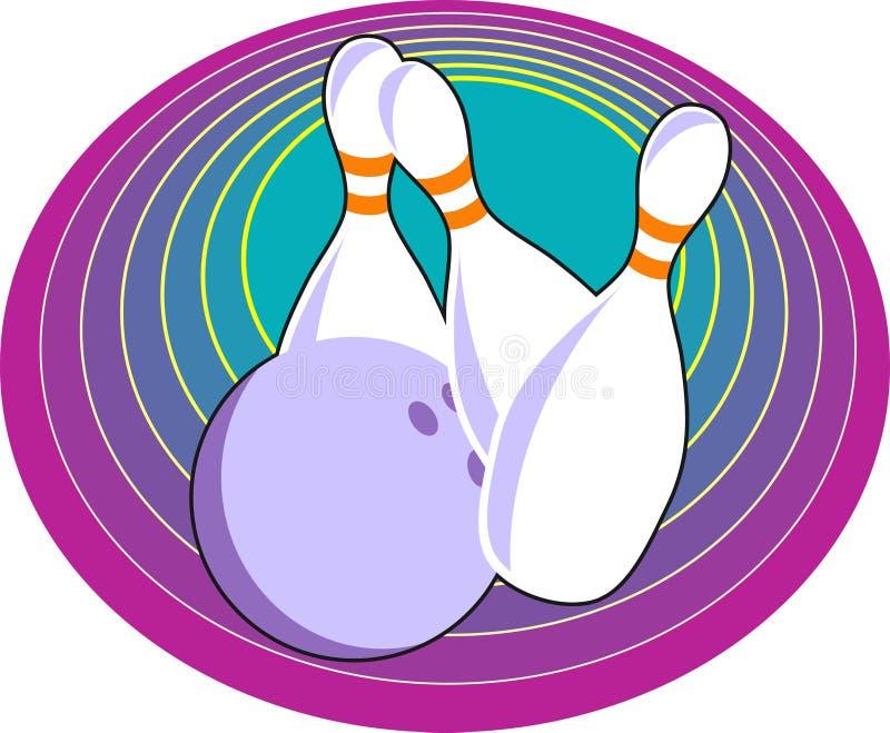 Download 10 Pin-Bowlingspiel vektor abbildung. Illustration von bowlingspiel - 44059