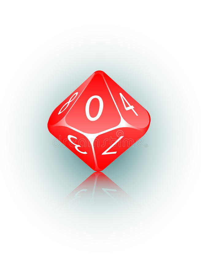 Free 10-sided Die Stock Images - 18003134