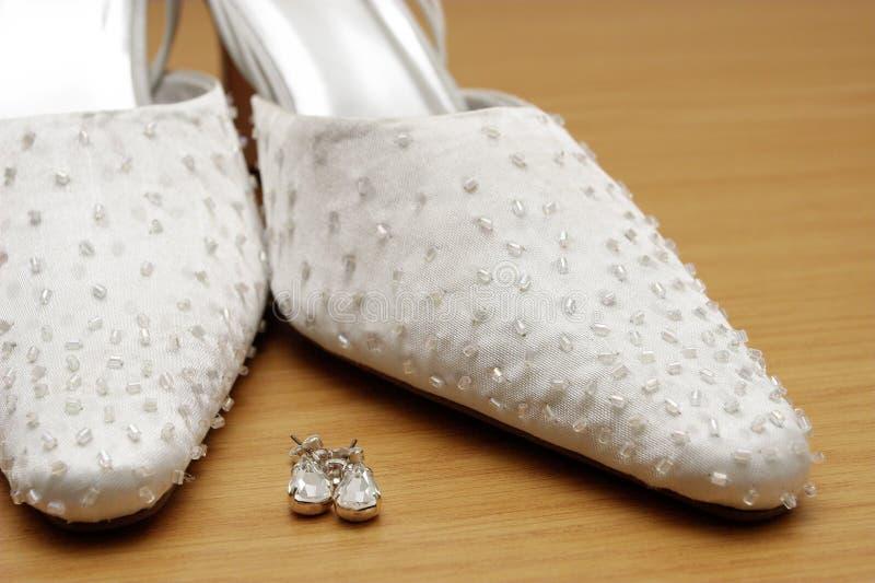 10 skor arkivbild