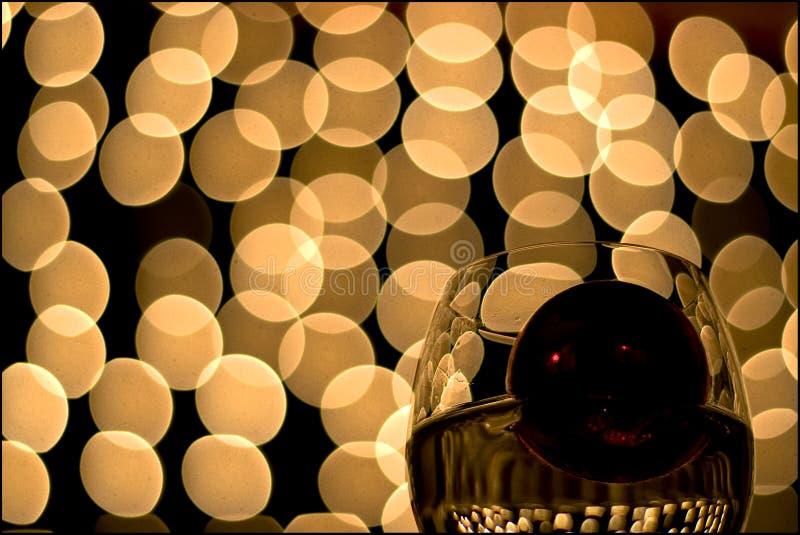 10 szklanek wina zdjęcie royalty free