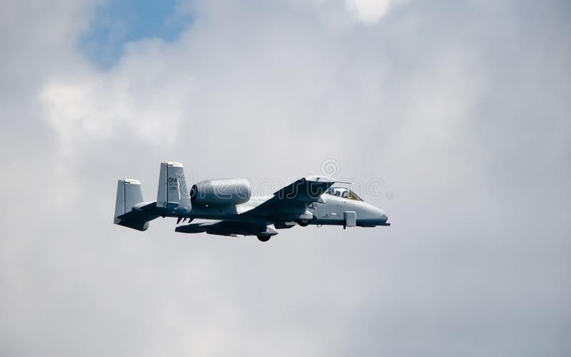 A-10 Thunderbolt II Aircraft Royalty Free Stock Photography