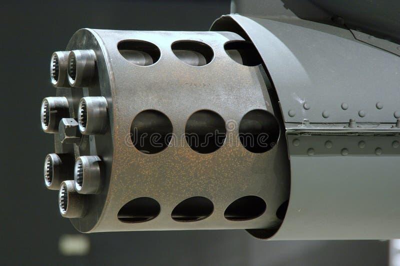 A-10 Thunderbolt Ii Gattling Gun Stock Photo
