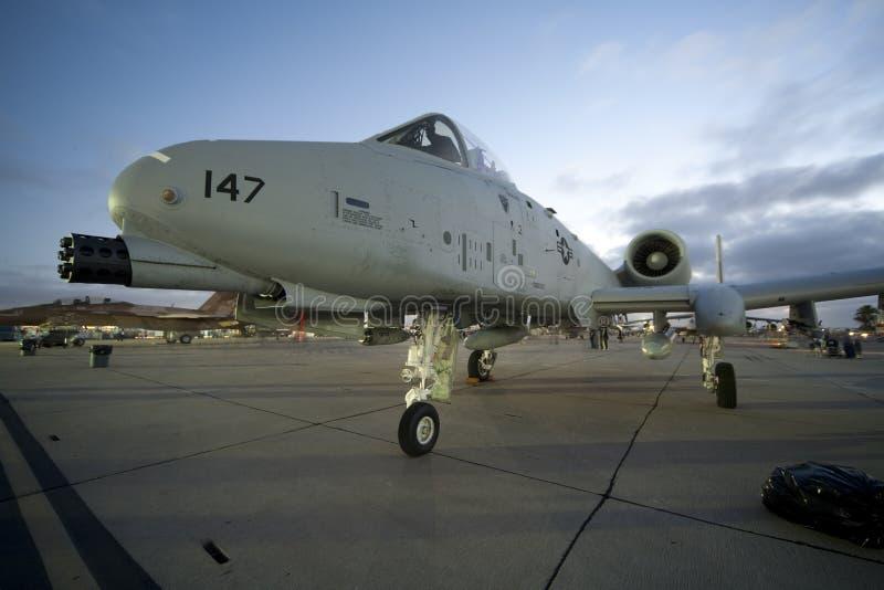 A-10 Warthog lizenzfreie stockfotos