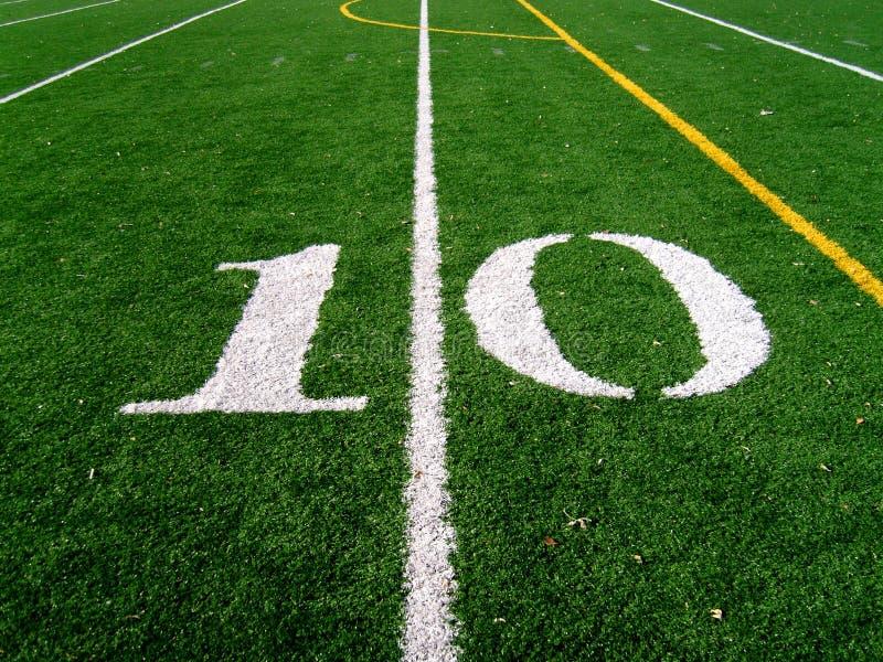 Download 10 Yard Line stock image. Image of grass, gridline, game - 1531869