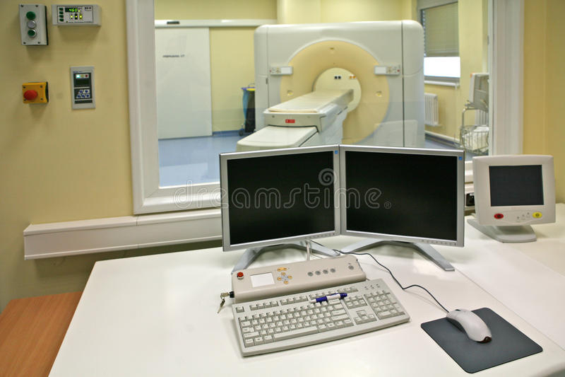 10 zobrazowania rezonans magnetyczny przeszukiwacz zdjęcie stock