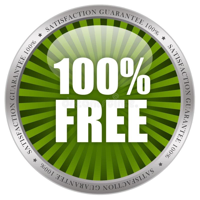 100自由 库存例证