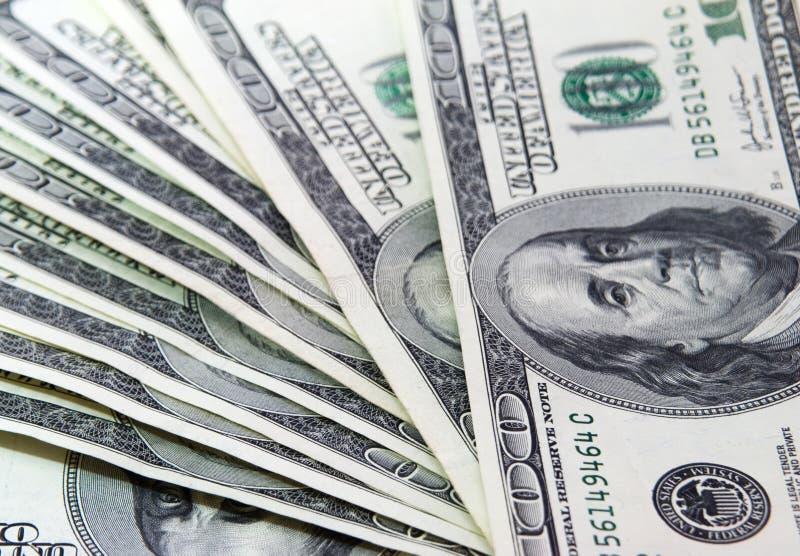 100货币 图库摄影