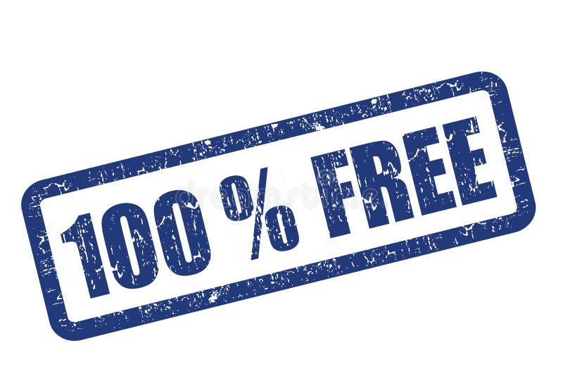 100 ελεύθερα ελεύθερη απεικόνιση δικαιώματος