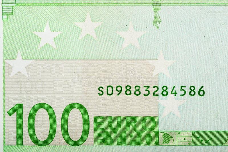 100 ευρο- στοκ εικόνες