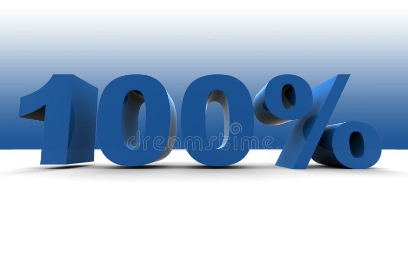 100% stock illustratie