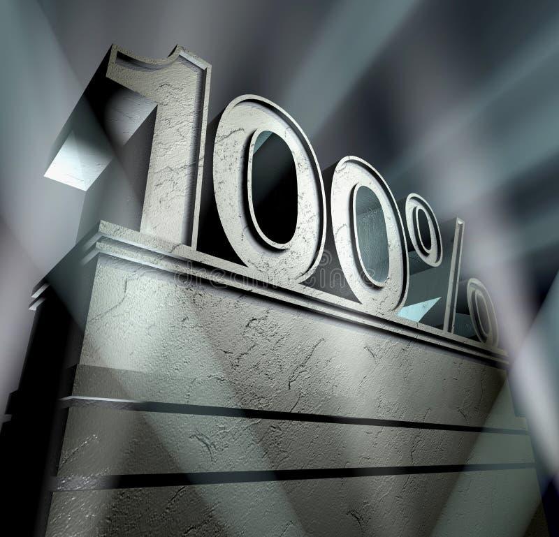 100 иллюстрация вектора