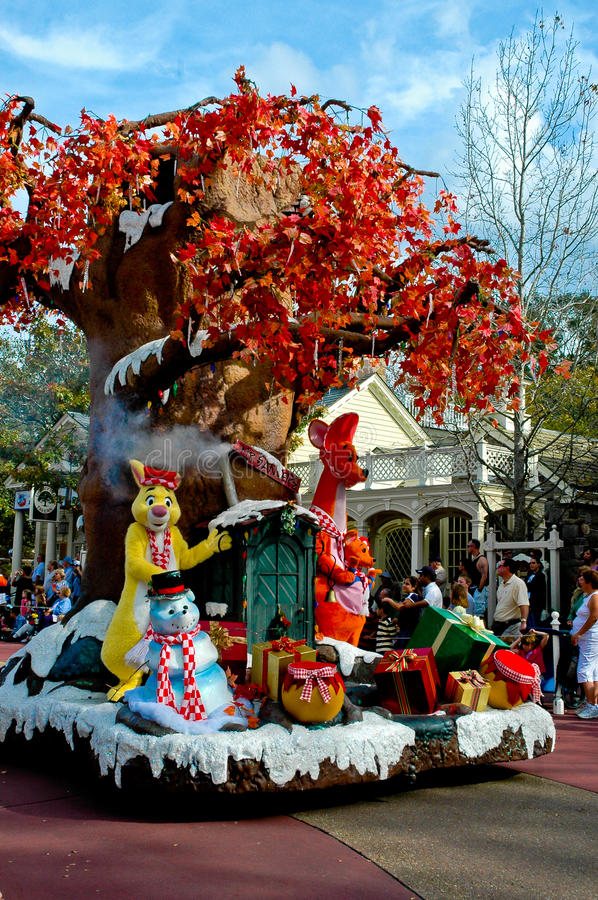 Download 100 Acre Woods On Holiday Parade. Editorial Photo - Image: 27814666