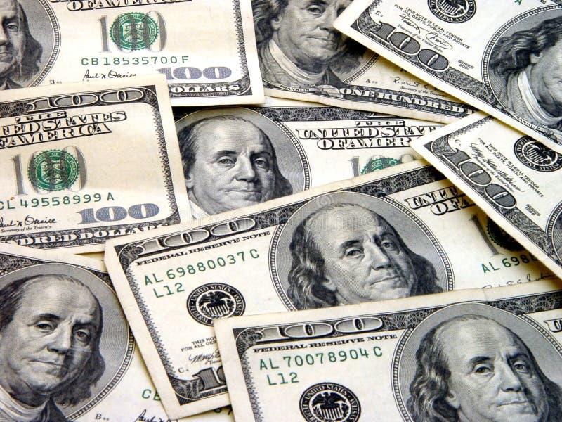 $100 Bills stock photos