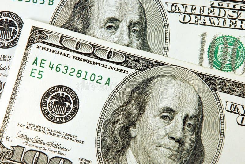 100 dólares de conta imagens de stock royalty free