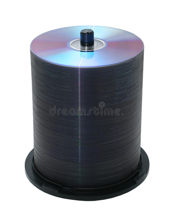 100 Discs Royalty Free Stock Photography
