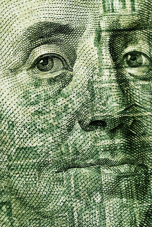Download 100 Dollar bill closeup stock image. Image of benjamin - 16286895
