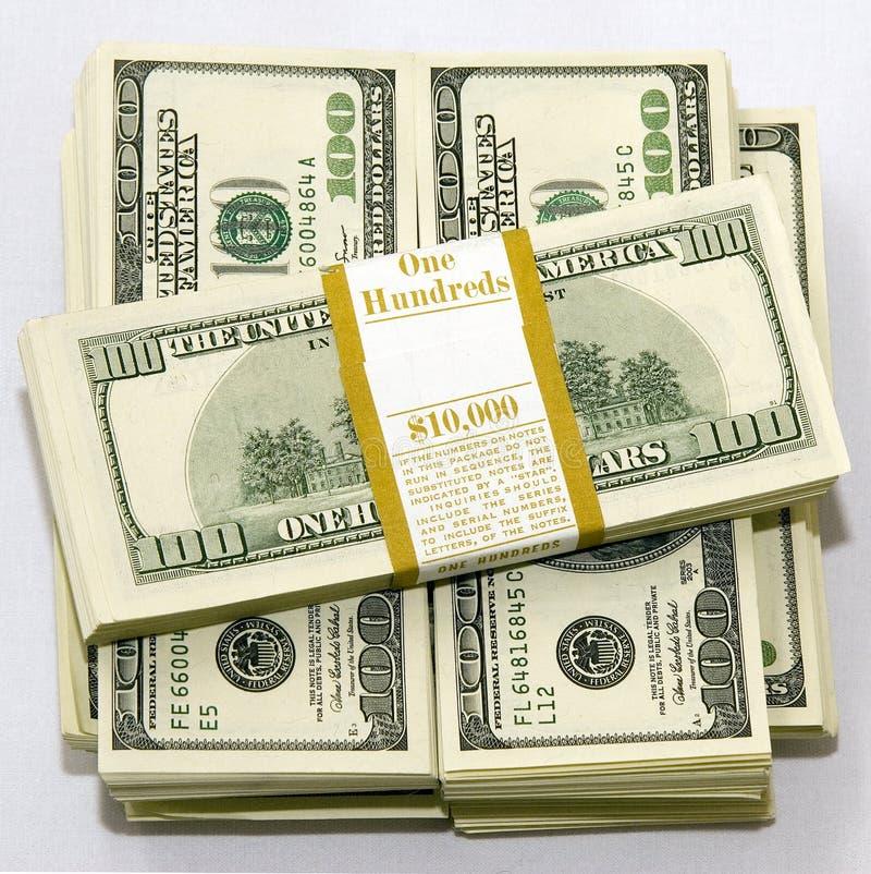$100 dollar bills stock images