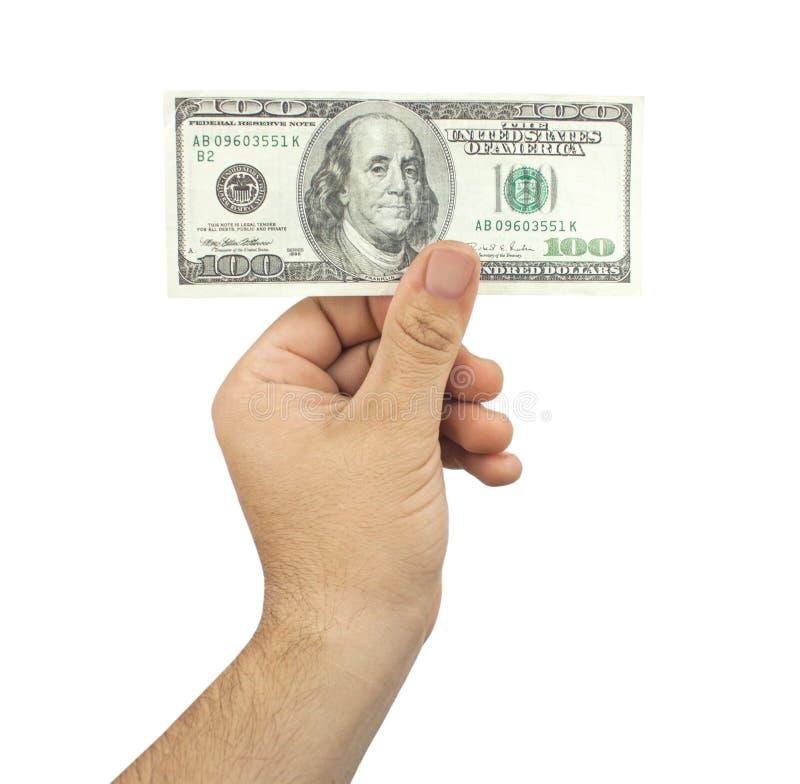 100 Dollars Royalty Free Stock Photo