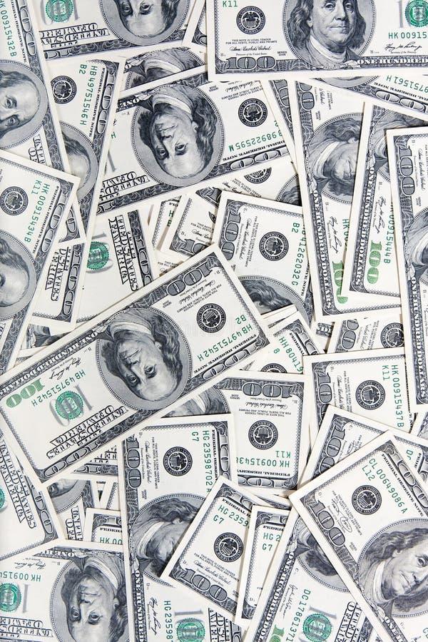 100 dollars banknotes royalty free stock photos
