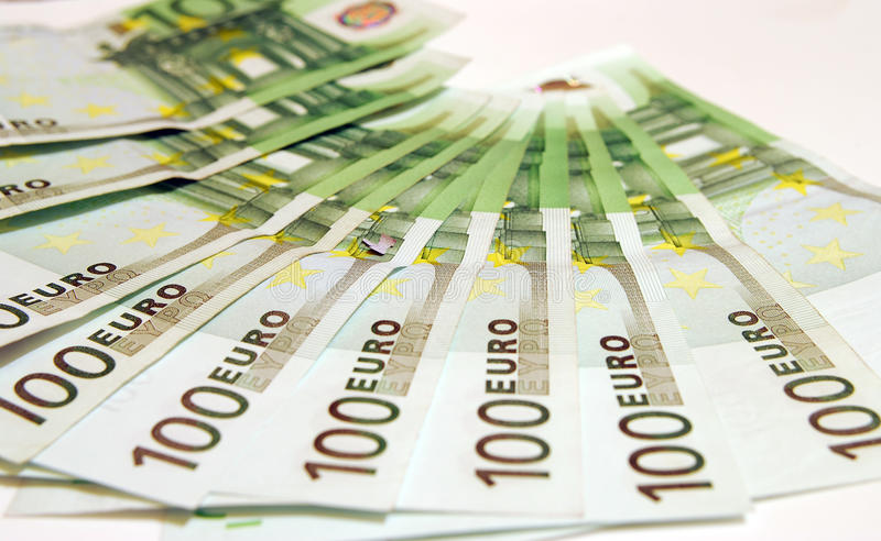 Download 100 Euro stock image. Image of three, hundred, value - 10510779