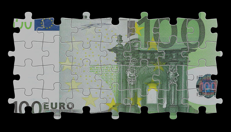 100 euro royalty-vrije stock foto's