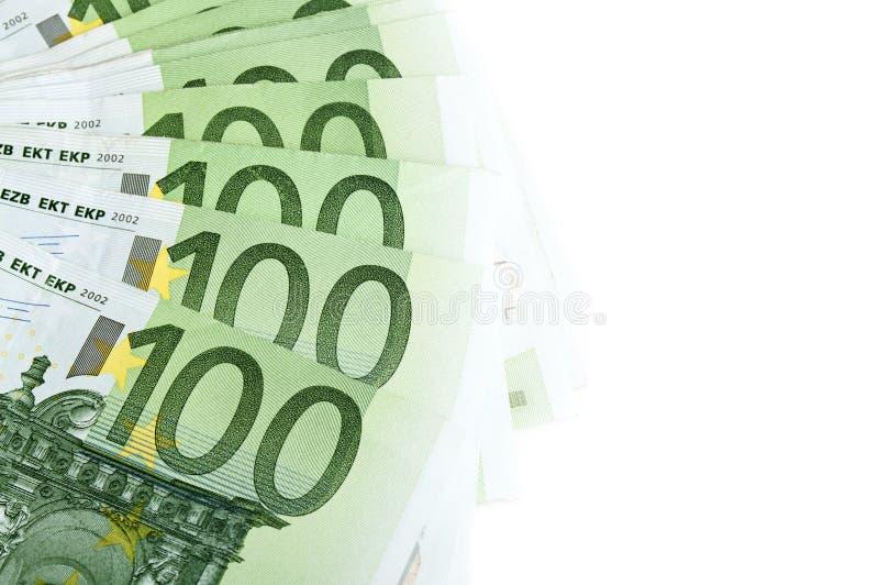 100 Euro Banknotes Royalty Free Stock Photo