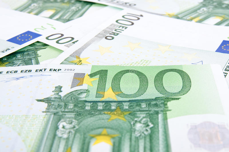 Download 100 euros background stock photo. Image of green, finances - 11396766