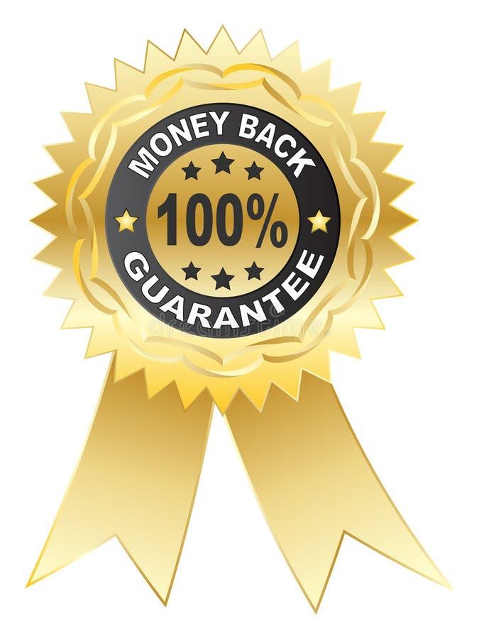 100% GARANTIE-Medaille