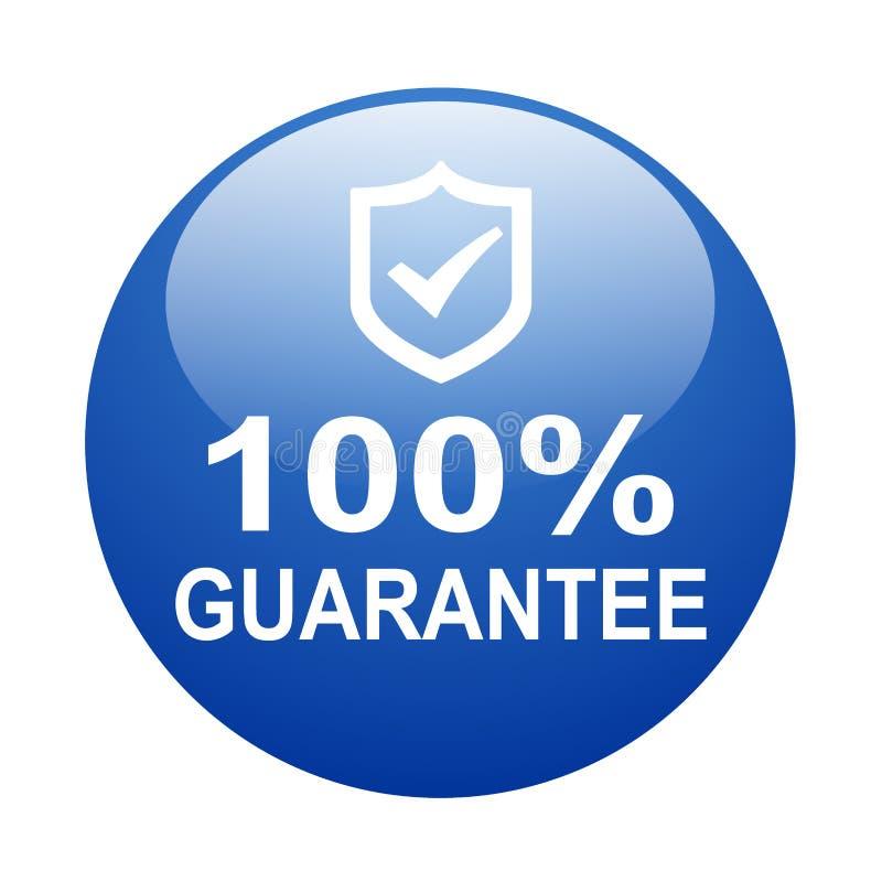 Free 100 Guarantee Stock Image - 156037001