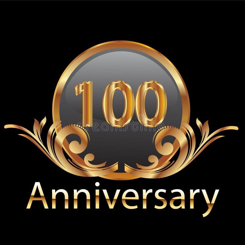 100. Jahrjahrestag stock abbildung
