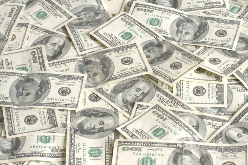 $ 100 n banków stawki zdjęcie stock