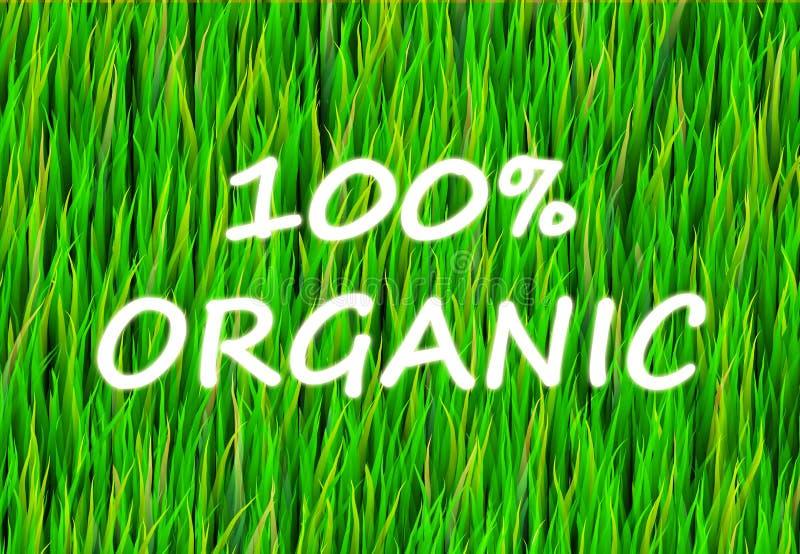 Download 100% Organic stock illustration. Illustration of nature - 7315542