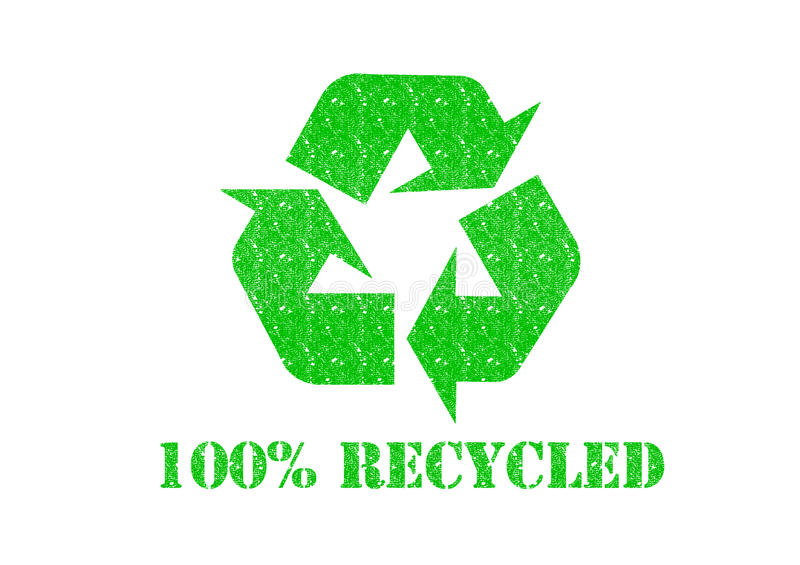 Download 100% RECYCLED stock illustration. Image of friendly, global - 29193771