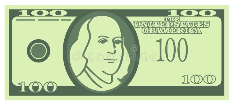 Download 100 U.S. Dollars Banknote (Vector) Stock Vector - Image: 9576103