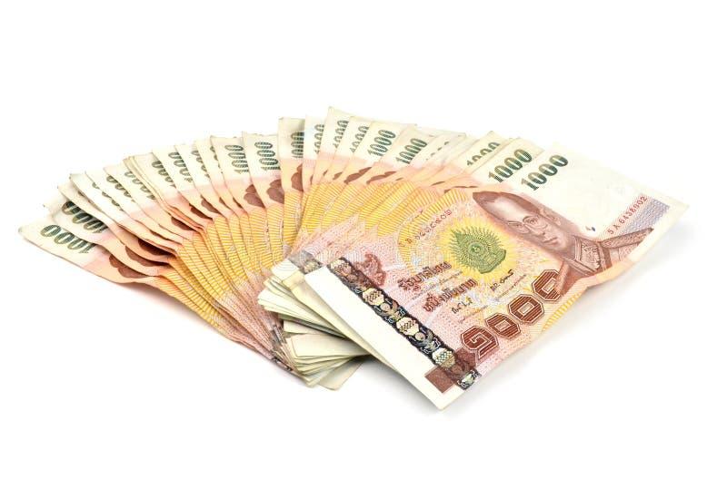 1000 baht banknotes royalty free stock image