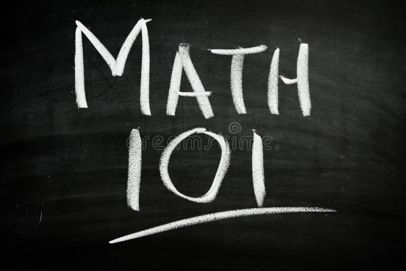 101 matematyka obraz royalty free