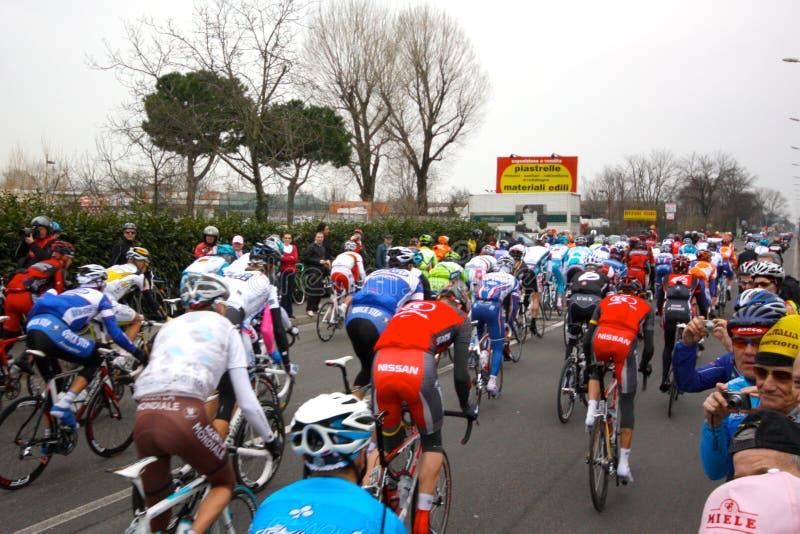 101st cyklu wydania Milan biegowy remo San zdjęcia royalty free