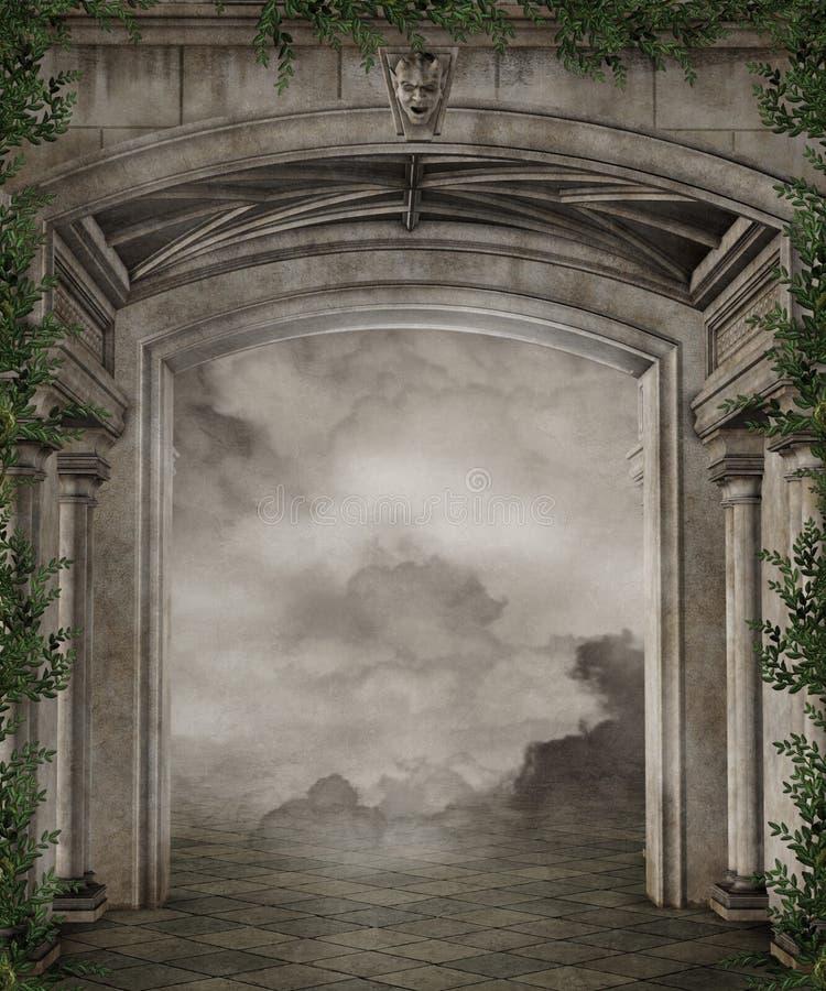 104 sceneria royalty ilustracja