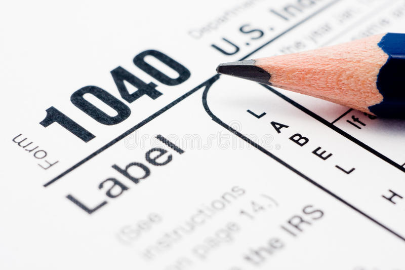 Download 1040 Formularzowy Plombowanie Podatek Obraz Stock Editorial - Obraz złożonej z księgowość, amerykanin: 13325919