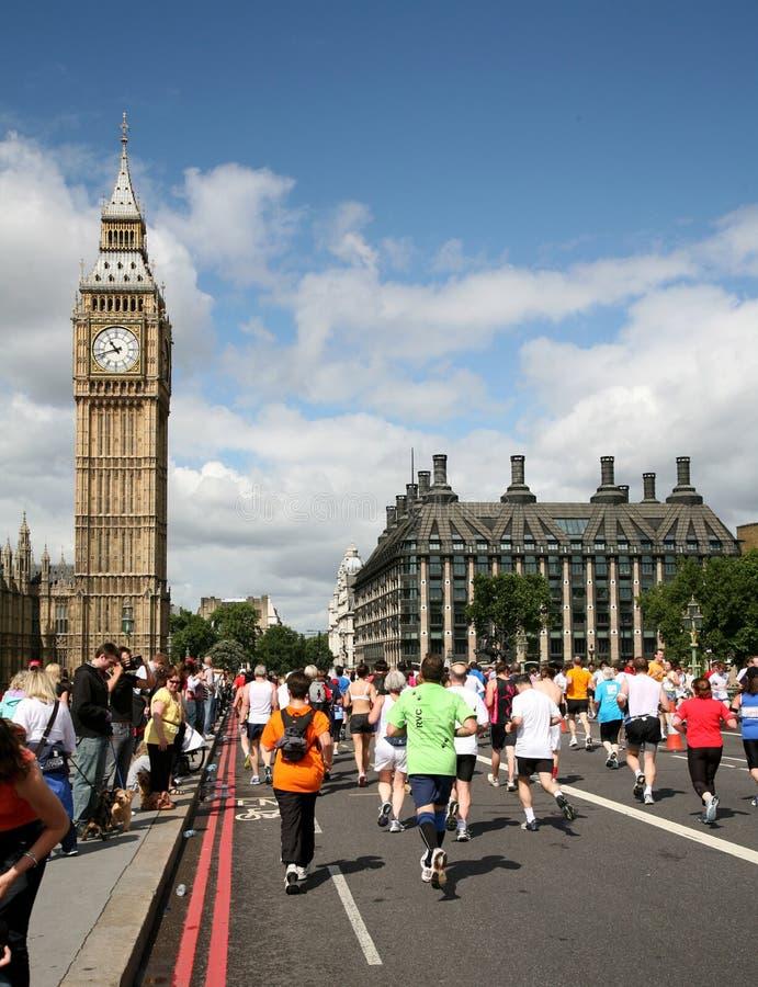 10k bieg 2009 London zdjęcia stock