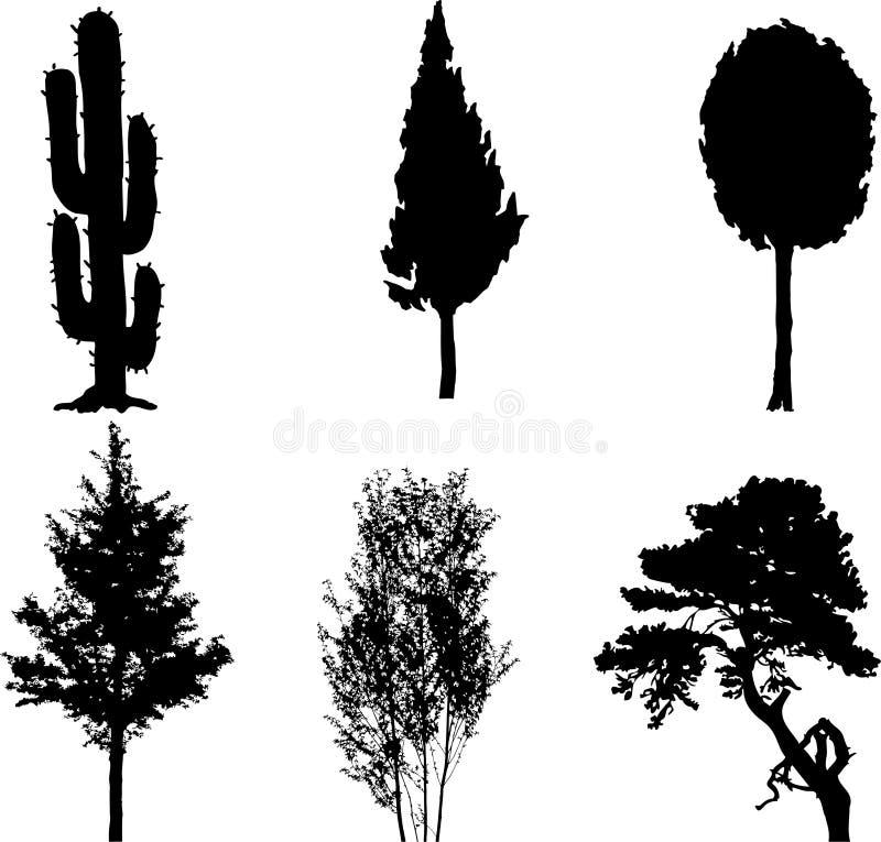 11个查出的集合结构树 皇族释放例证