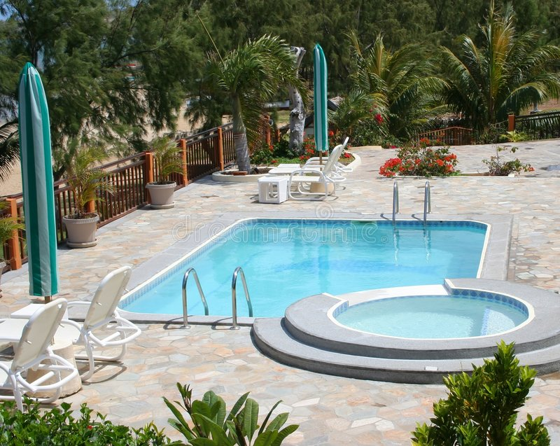 11个池游泳 库存图片