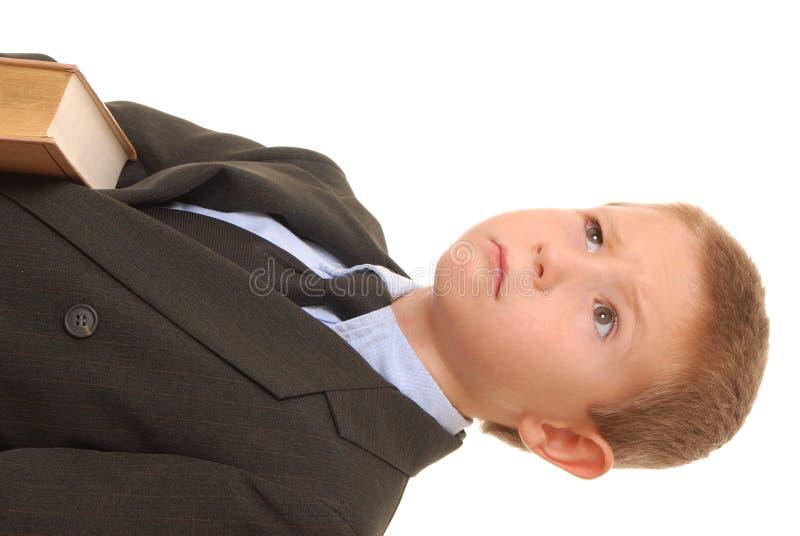 11个男孩生意人 库存图片