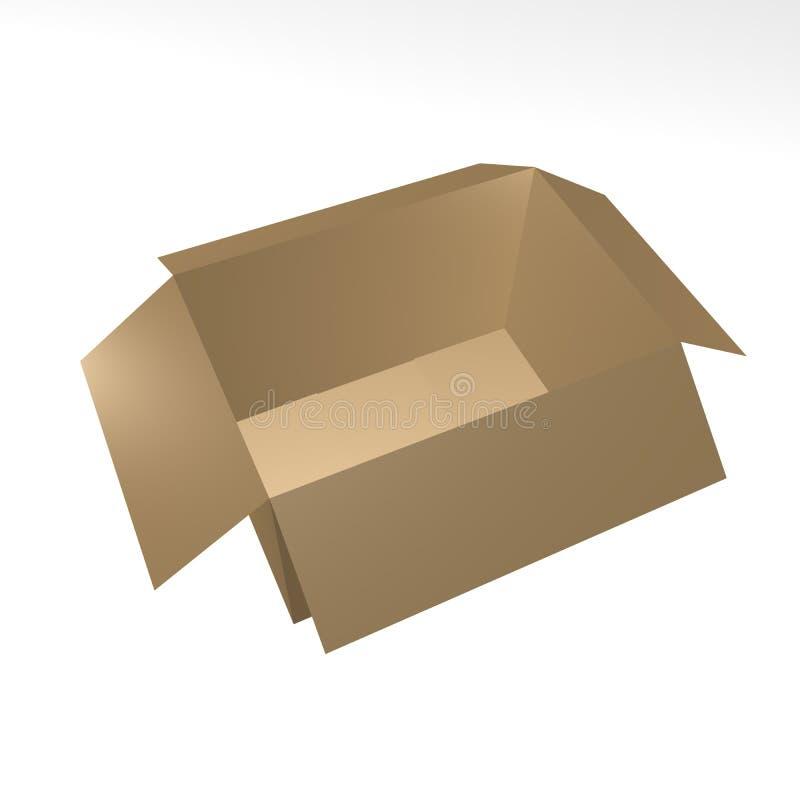 11个配件箱褐色 库存照片