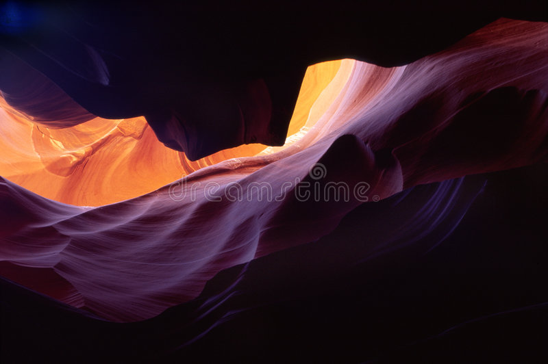 11只羚羊峡谷 库存照片
